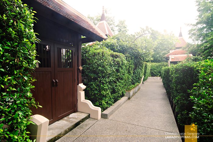 Pathways at Siripanna Villa Resort Spa in Chiang Mai
