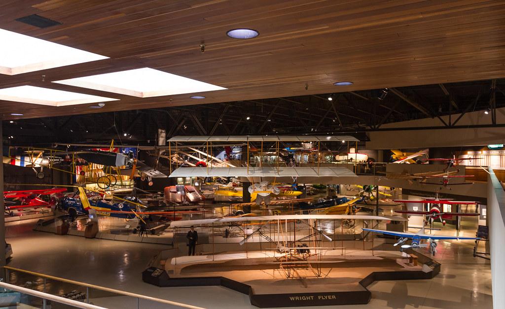 EAA museum floor
