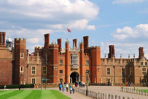 Hampton Court Palace, Hampton, Middlesex, England