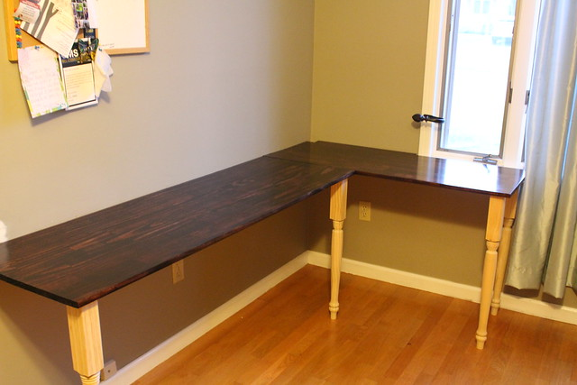 "blog series ""prints""-we build a desk"