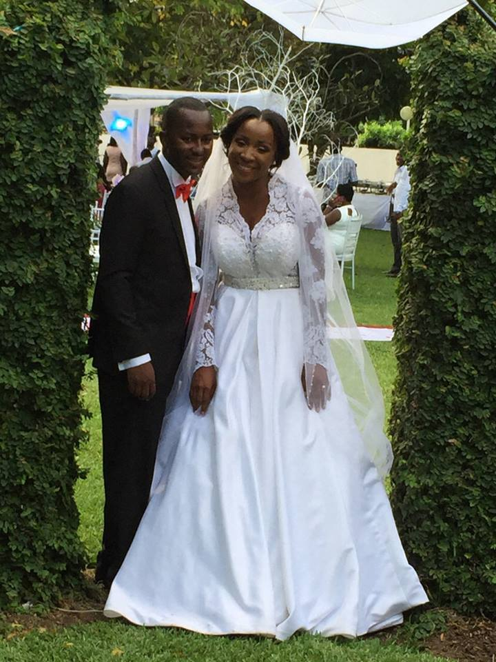 Check out Official Naa Ashorkor's Wedding Photos
