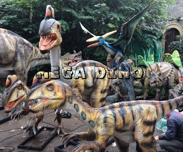 Moving Dinosaur Replicas
