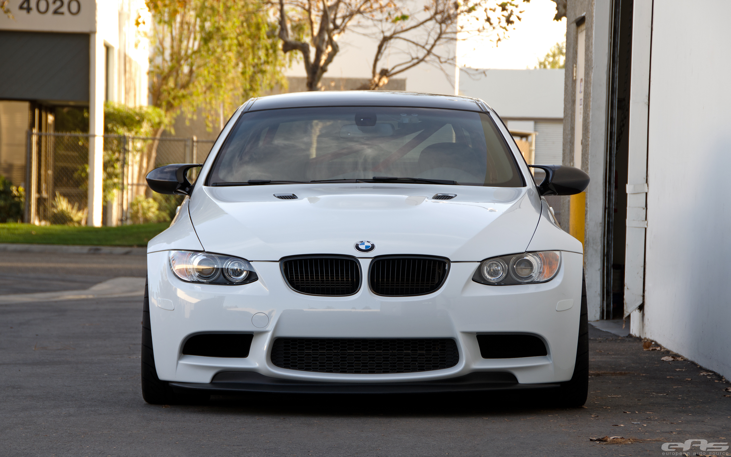 Alpine White E92 M3 On Volk Ze40 Wheels Bmw Performance