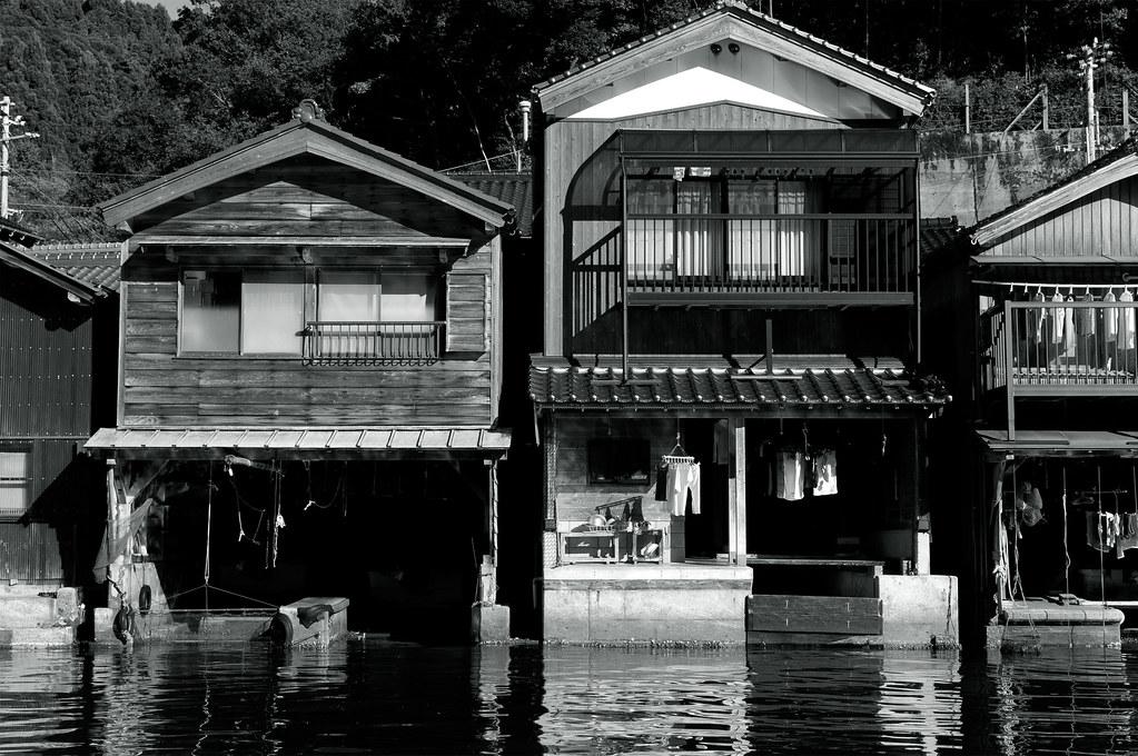 伊根の舟屋|京都府与謝郡伊根町