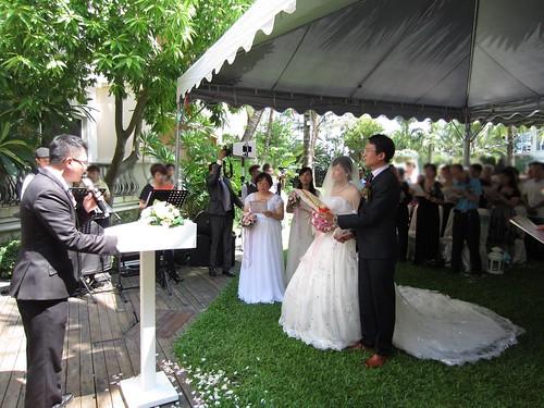 台南商務會館-基督教戶外證婚儀式 (13)