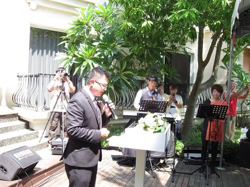 台南商務會館-基督教戶外證婚儀式 (15)