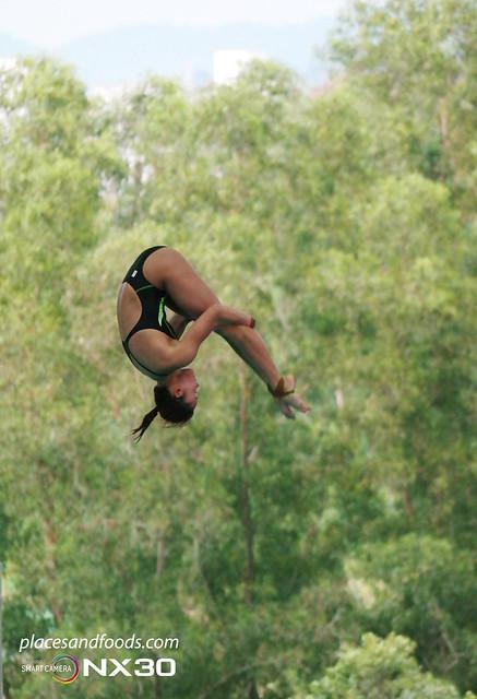 FINA Diving Grand Prix 2014 pandelela rinong jump