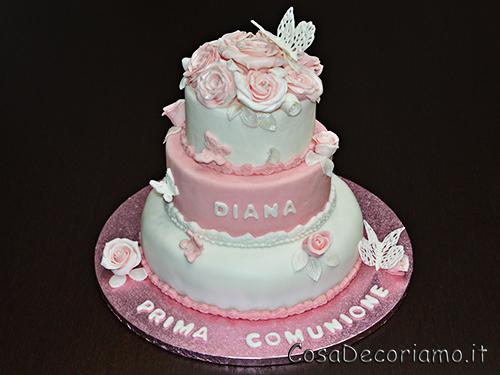 Torte - 33 - Torta comunione