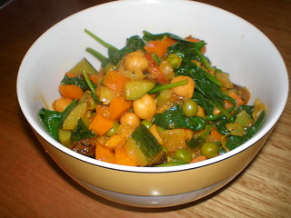 Cousin Natasha's Everything But The Kitchen Sink Vegetable Curry