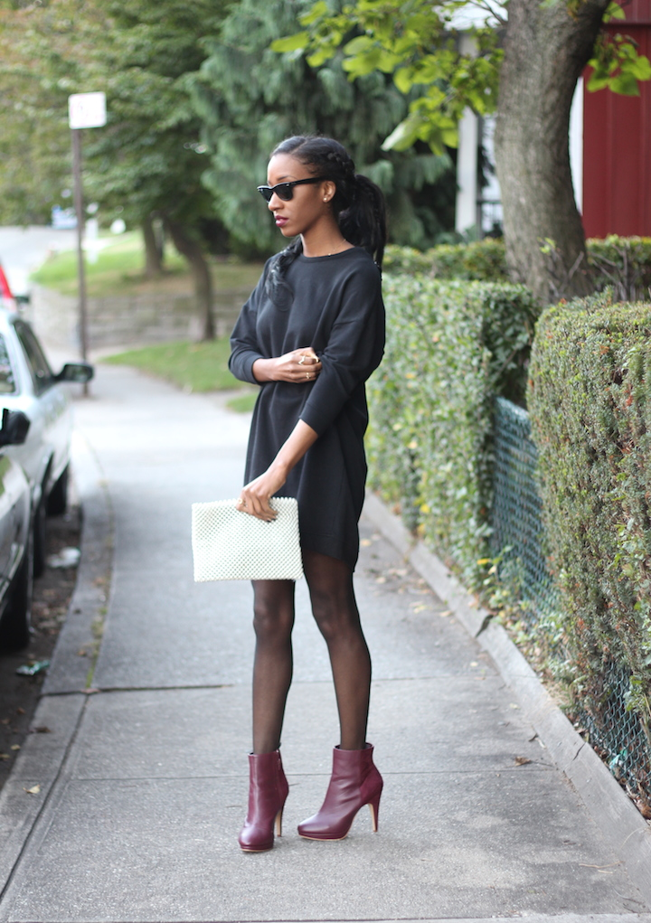 Plum Ankle Boots