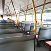 Upstairs on the new bus