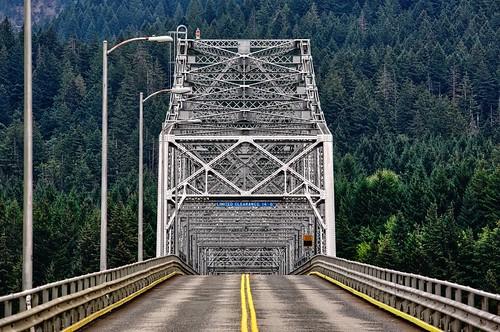 "Bridge of the Gods from the book ""Wild: From Lost to Found on the Pacific Crest Trail (2012)"" by Cheryl Strayed"