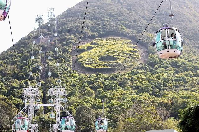 Hongkong ocean adventure cable cars