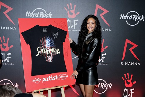 Rihanna Artist Spotlight Launch