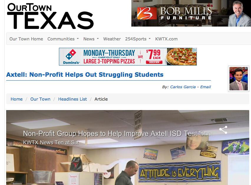 kwtx covers e h  anderson pr nonprofit client | KWTX-TV cove