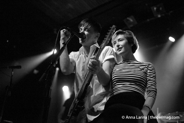 July Talk @ The Independent, SF 10/27/14