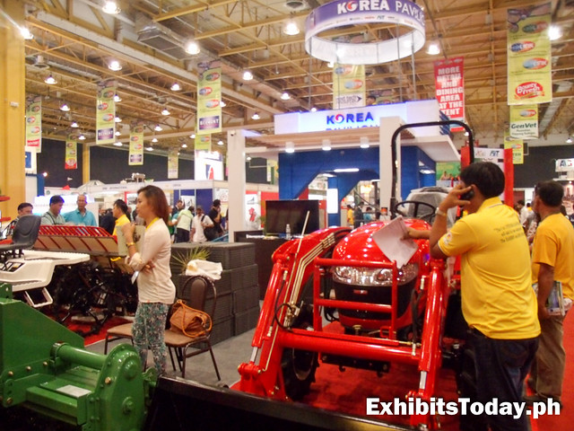 glimpse of Korea Pavilion at Agrilink 2014