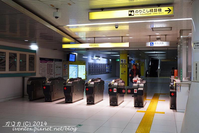 01刀口力日本東京赤羽橋站