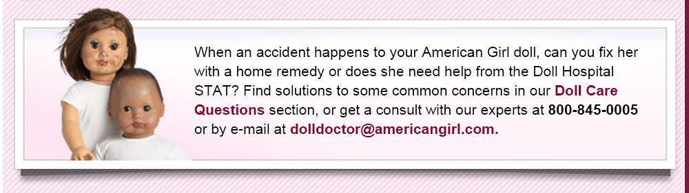 AG Doll Hospital question