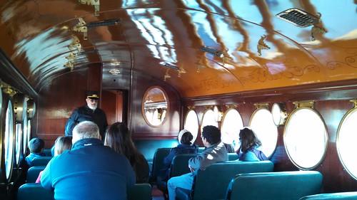 On Board the McKeen Car