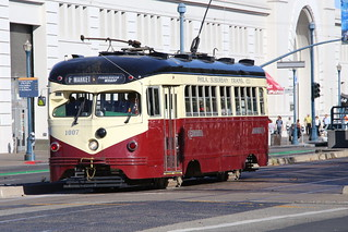 Love these street cars.  San Francisco, California.
