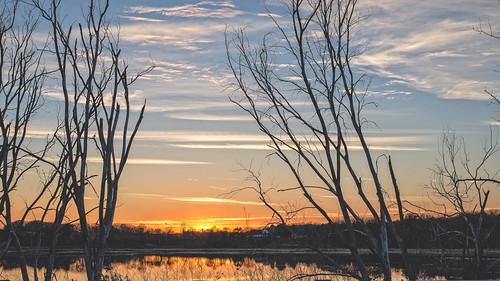 sunset sun lake water colors wisconsin 50mm nikon rustic d610