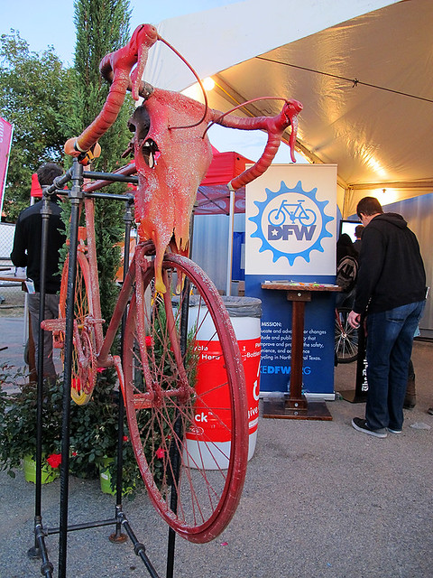 Art Bike At Our Table