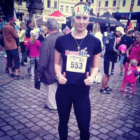 Hradecký půlmaraton 2014  aneb můj první půlmaraton..:)