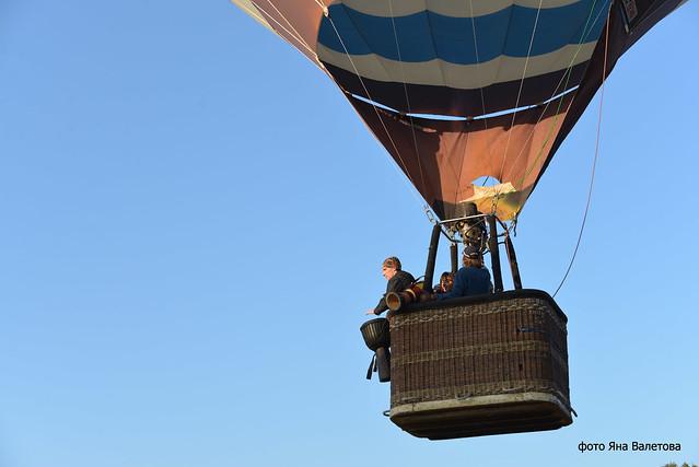 Секс в бальшом воздушным шаре