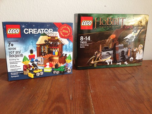 LEGO Herr der Ringe 79015 plus XMas Workshop