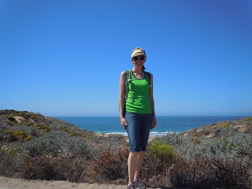 Hiking to Sand Spit Beach