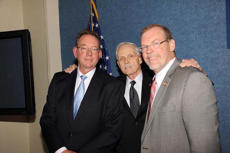 Gene Trisko, Jim Martin, Rep. Morgan Griffith
