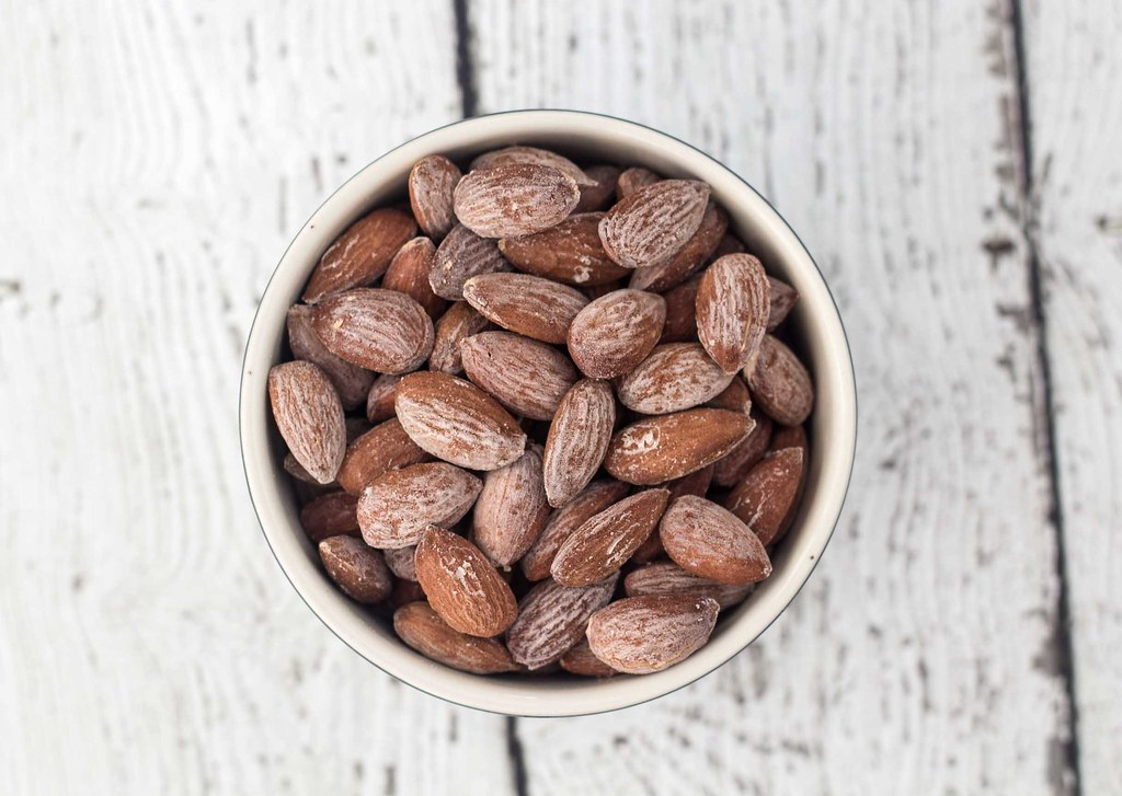 Recipe for Homemade Salted Almonds