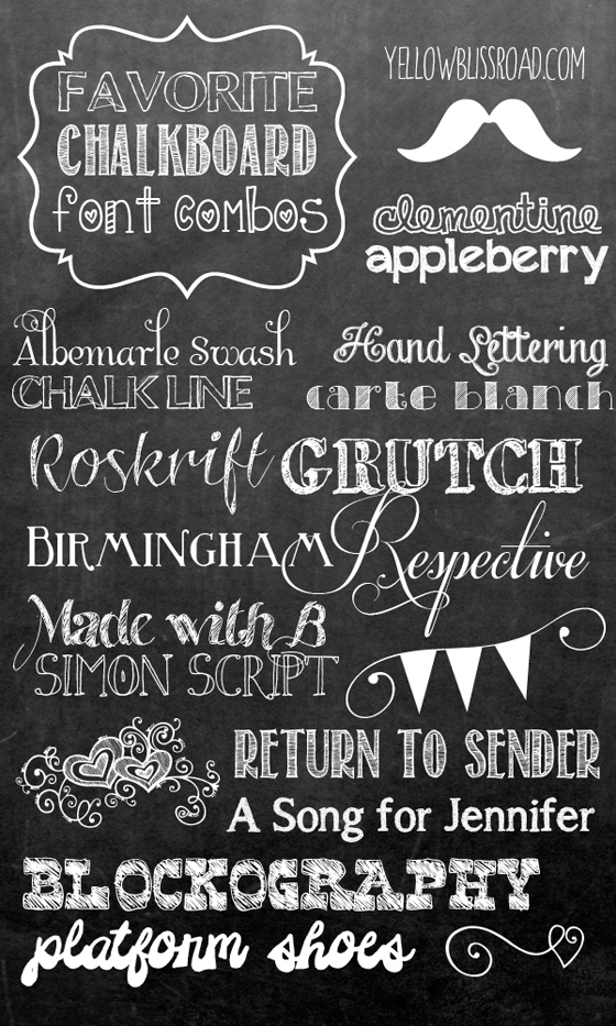 GRAFIE-PER-SCRIVERE-IN-BIANCO-SU-LAVAGNA--chalkboard-font-combinations