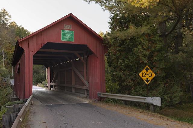 Northfield Vermont Covered Bridge No 2
