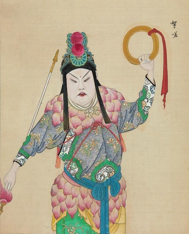 Chinese Opera figure f