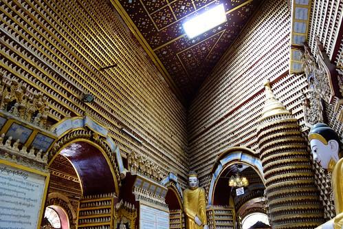 Inside Thanboddhay Pagoda