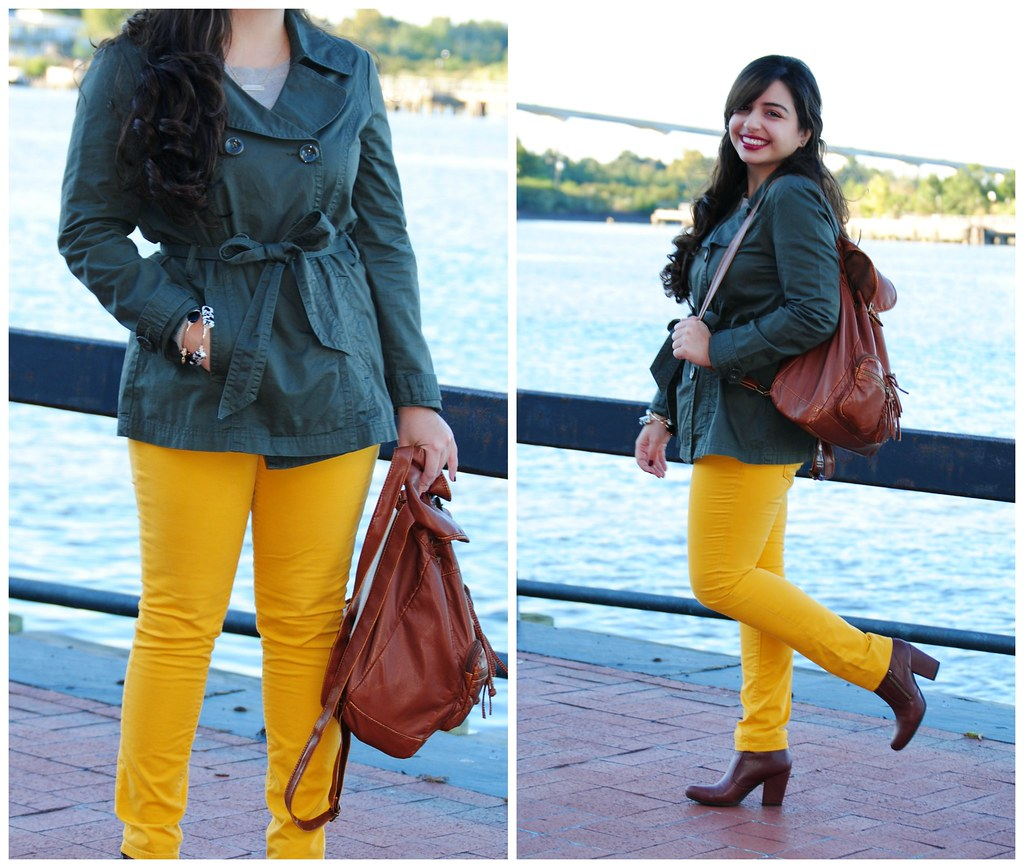 fall travel outfit  | Savannah, GA