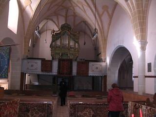 Fortified church in Honigberg, Romania