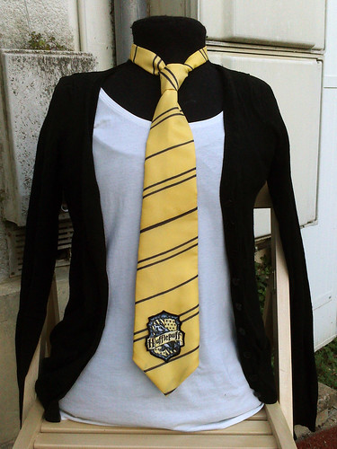 cravate hufflepuff halloween 2014