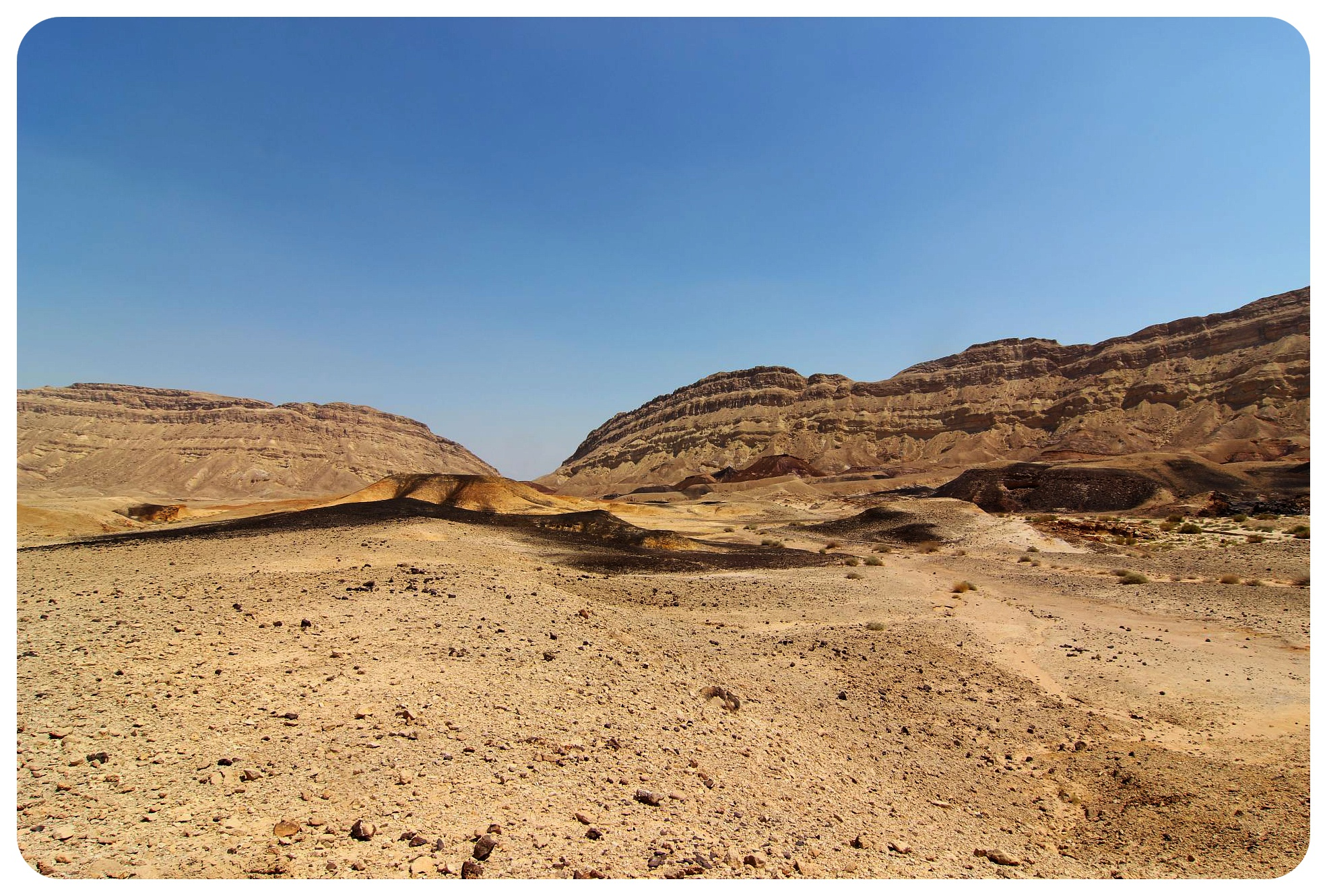makhtesh katan crater israel