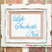 Life Sucketh Not Cross Stitch by Ancora Crafts