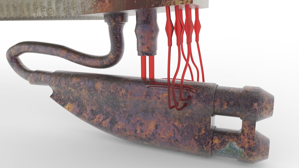 The Matrix Apu Gun Textured 3d Model