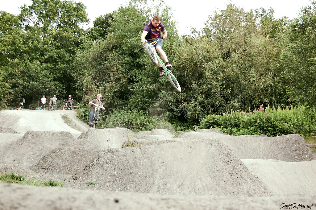 Steve Cushion at Rudry Trails, Caerphilly