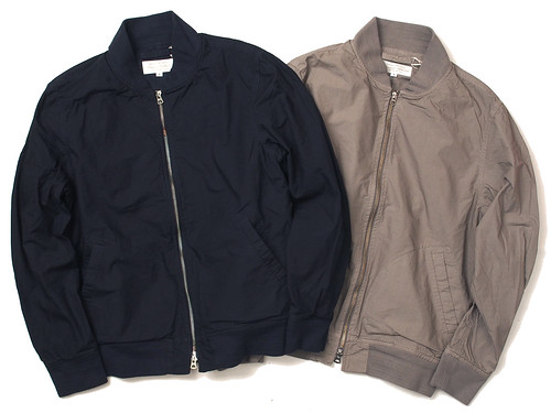 Manual Alphabet / O/D Typewriter Bomber Jacket