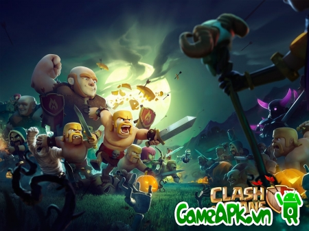 Clash of Clans v6.322 Full cho Android
