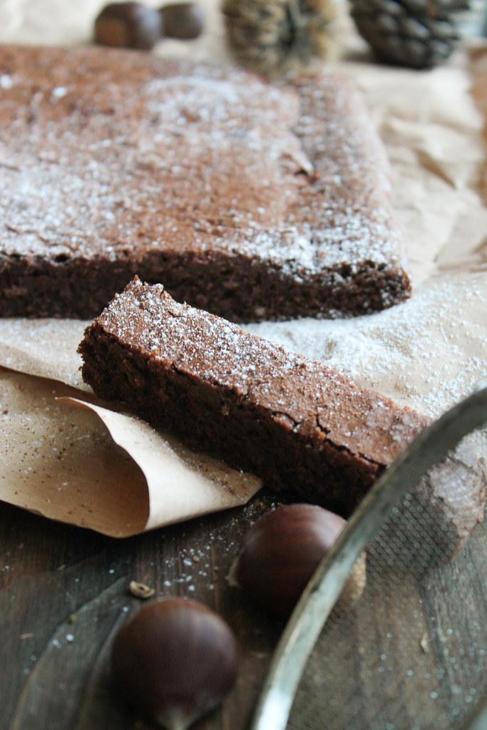 Recette Fondant chocolat marron