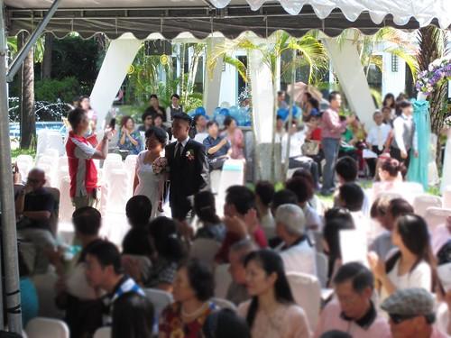 台南商務會館-基督教戶外證婚儀式 (9)