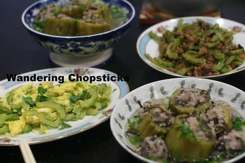 O  Kho Qua Xao Trung (Vietnamese Bitter Melon Egg Stir-Fry 11