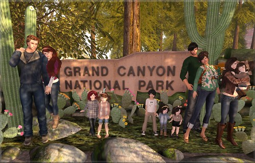 Our family Grand Canyon group Picture